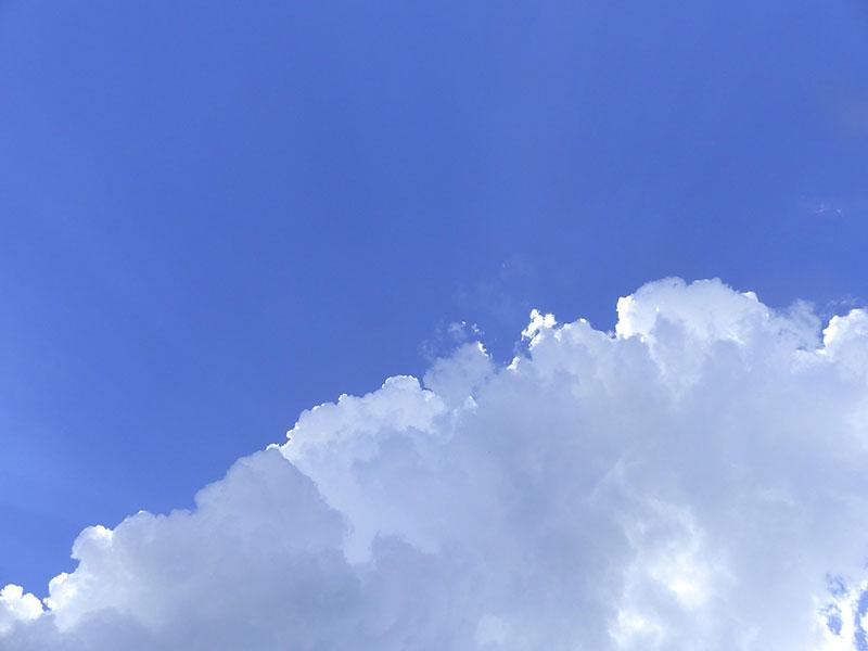 Ciel Bleu Et Nuages Blancs Image Gratuite