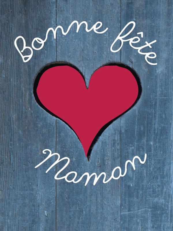 Favori Bonne fête Maman : carte pour la Fête des Mères GR95