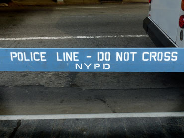 barrière police line - do not cross - NYPD