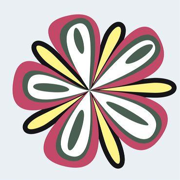motif fleur 09