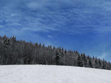Neige Et Ciel Bleu Photos De Neige